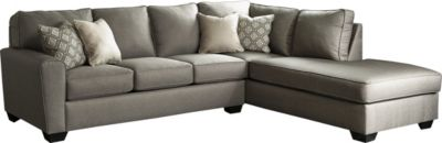 Ashley Calicho 2-Piece Right-Side Chaise Sectional