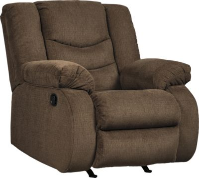 Ashley Tulen Chocolate Rocker Recliner