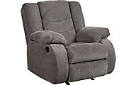 Ashley Tulen Gray Rocker Recliner