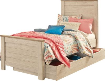 Ashley Willowton Twin Bed with Trundle