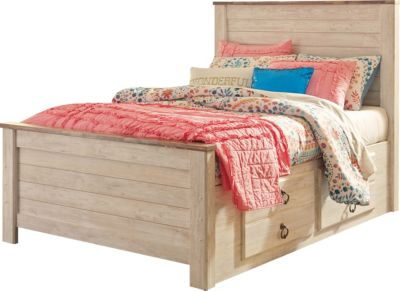 Ashley Willowton Full Storage Bed