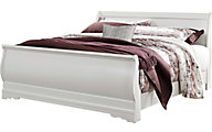 Ashley Anarasia White King Sleigh Bed