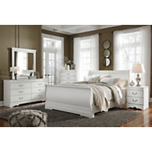 Ashley Anarasia 4-Piece Queen Sleigh Bedroom Set