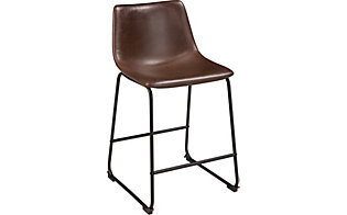 Ashley Centiar Brown Counter Stool