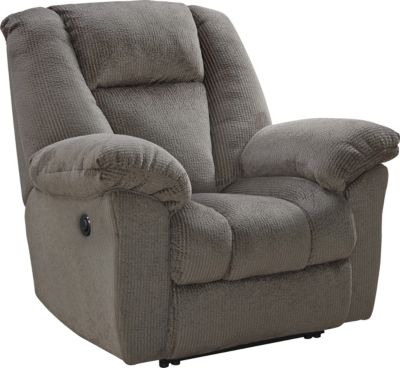 Ashley Nimmons Taupe Power Recliner