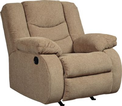 Ashley Tulen Mocha Rocker Recliner