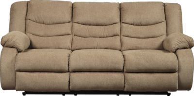 Ashley Tulen Reclining Sofa-Mocha