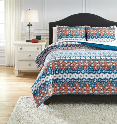 Ashley Jackalyn 3-Piece King Comforter Set