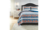 Ashley Jackalyn 3-Piece Queen Comforter Set