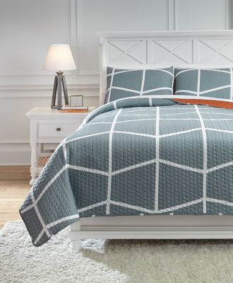 Ashley Gage 3-Piece Full Coverlet Set