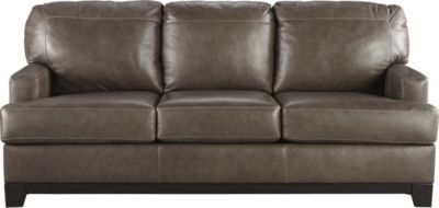 Ashley Derwood Leather Queen Sleeper