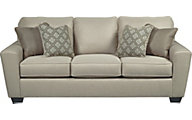 Ashley Calicho Ecru Queen Sofa Sleeper