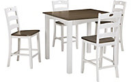 Ashley Woodanville 5-Piece Counter Set