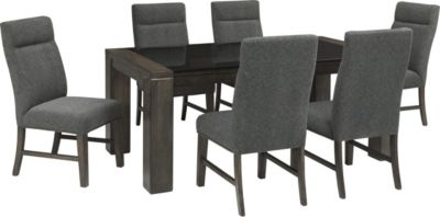 Ashley Chansey 7-Piece Dining Set