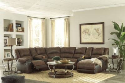 Ashley Nantahala 7-Piece Right-Side Chaise Sectional