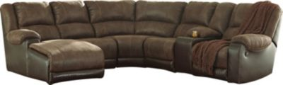 Ashley Nantahala 6-Piece Left-Side Chaise Sectional