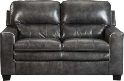 Ashley Gleason Leather Loveseat