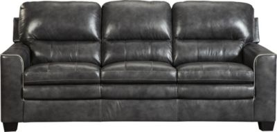 Ashley Gleason Leather Sofa