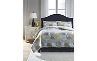 Ashley Gastonia 3-Piece King Comforter Set