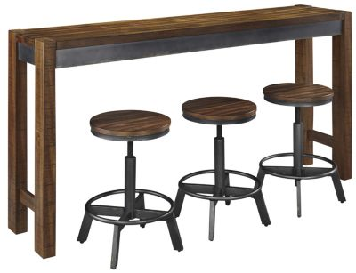 Ashley Torjin Counter Table & 3 Stools