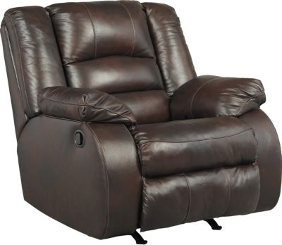 Ashley Levelland Leather Rocker Recliner