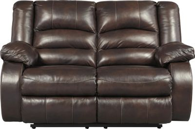 Ashley Levelland Leather Reclining Loveseat
