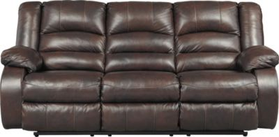 Ashley Levelland Leather Power Reclining Sofa