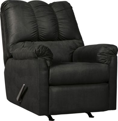 Ashley Darcy Black Rocker Recliner