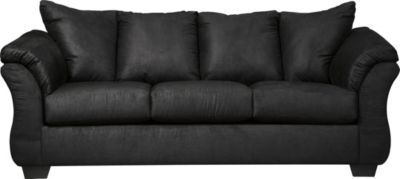 Ashley Darcy Black Microfiber Full Sleeper