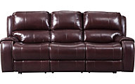 Ashley Gilmanton Leather Power Reclining Sofa