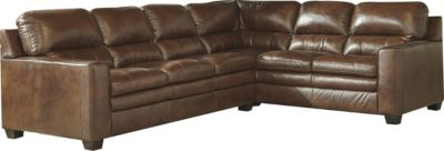 Ashley Gleason 2-Piece Leather Sectional