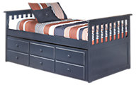 Ashley Leo Twin Bed with Storage Trundle