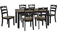 Ashley Froshburg Table & 6 Chairs Set