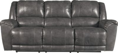 Ashley Persiphone Leather Reclining Sofa