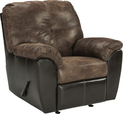 Ashley Gregale Coffee Rocker Recliner