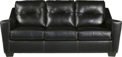 Ashley Kensbridge Black Leather Sofa
