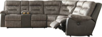 Ashley Hacklesbury 4-Piece Power Reclining Sectional