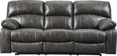 Ashley Dunwell Power Reclining Sofa w/Power Headrest