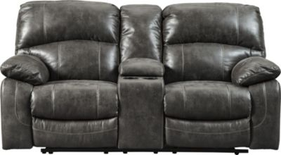 Ashley Dunwell Power Recline Console Loveseat