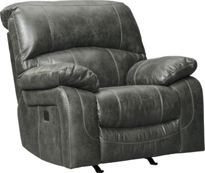 Ashley Dunwell Power Rocker Recliner with Power Headrest