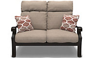 Ashley Chestnut Ridge Outdoor Loveseat With Cushion