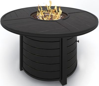 Ashley Castle Island Outdoor Fire Pit Table