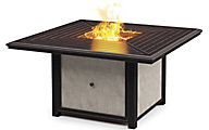 Ashley Town Court Outdoor Fire Pit Table