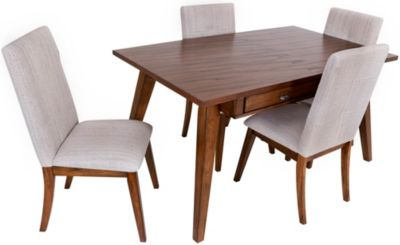 Ashley Centair Table & 4 Upholstered Chairs