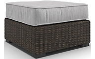 Ashley Alta Grande Outdoor Ottoman With Cushion