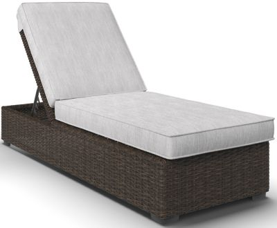 Ashley Alta Grande Outdoor Chaise Lounge With Cushion
