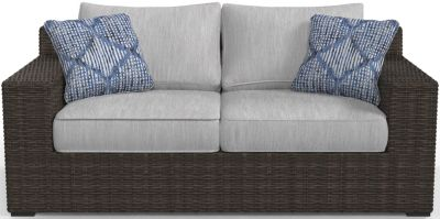 Ashley Alta Grande Outdoor Loveseat With Cushion