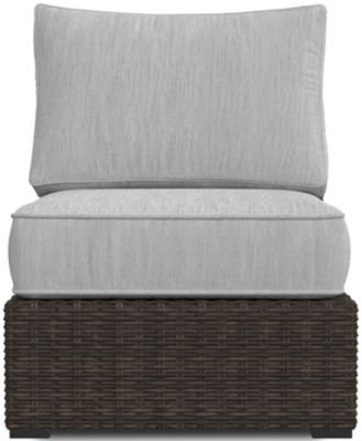 Ashley Alta Grande Outdoor Armless Chair With Cushion