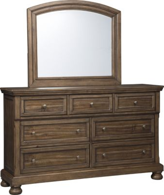 Ashley Flynnter Dresser With Mirror
