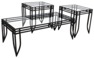 Ashley Exeter Coffee Table & 2 End Tables